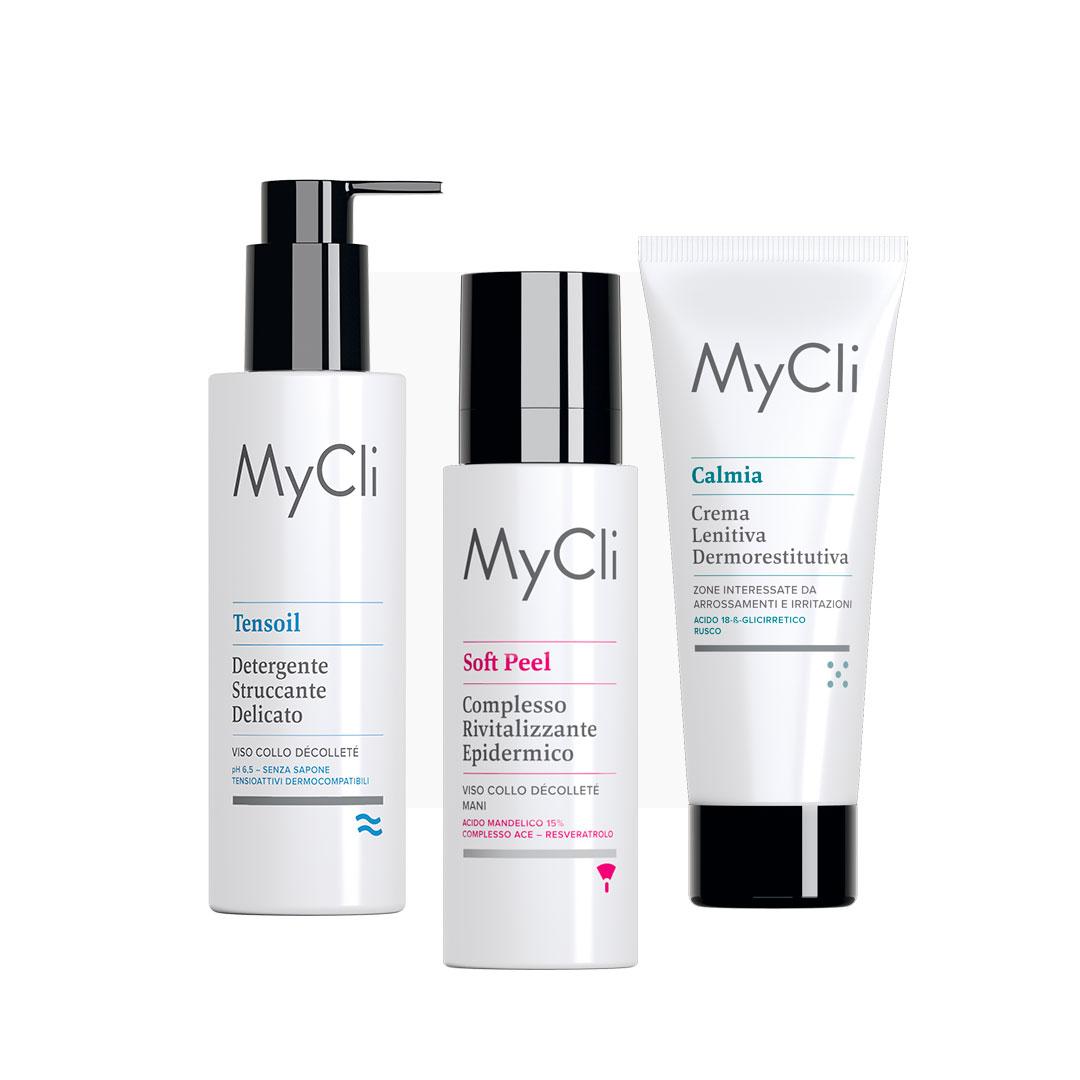 Наборы Набор Миндального пилинга - MyCLI Soft Peel + MyCLI Tensoil + MyCLI Calmia | DoctorProffi.ru
