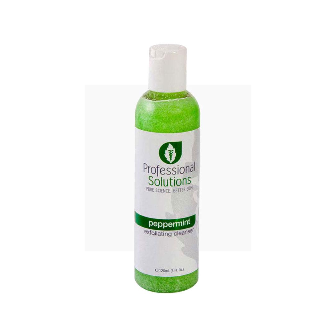 Professional Solutions Peppermint Exfoliating Cleanser - Очищающий скраб с содержанием перечной мяты   DoctorProffi.ru