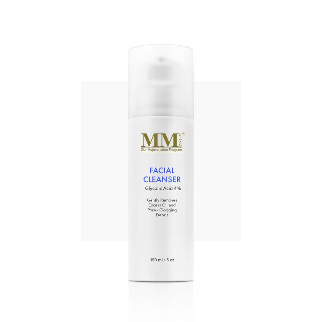 Mene & Moy System Facial Cleanser 4% - 150ml - Очищающий гель для лица с гликолевой кислотой 4% | DoctorProffi.ru